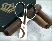 Gold Cigar Scissors