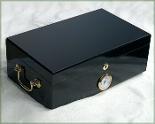 High Gloss Black Humidor