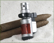 Colibri Firrebird Piston Ligher in Red