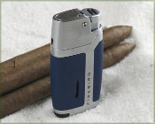 Coiibri Volt - Single Blue Torch Lighter in Blue